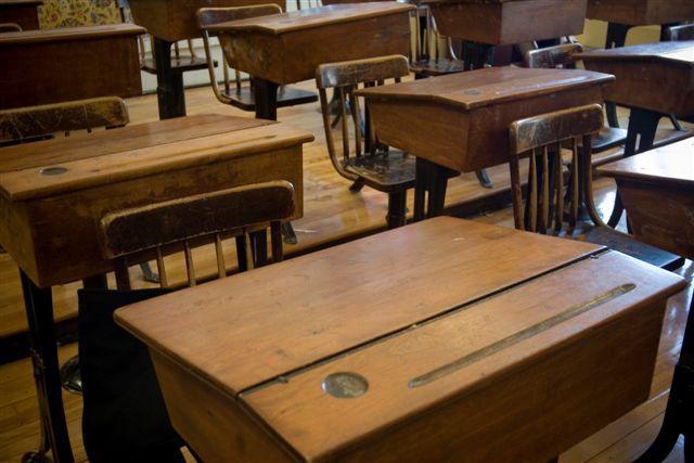 BLS antique classroom